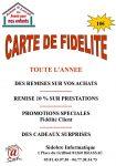 Carte de fidélité Sidobre Informatique Brassac