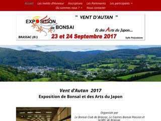 Expo Bonsaï et Arts du Japon -2017